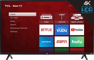 TCL 75S421 75-inch 4K HDR Roku Smart LED TV