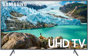 Samsung UN55RU7200 55-inch 4K HDR Smart LED TV (Refurbished)