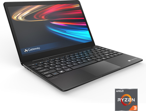 "Gateway 14.1"" Ultra Slim Notebook Ryzen 3 3200U, 4GB RAM, 128GB SSD, FHD 1080p IPS"