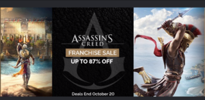Green Man Gaming Sale: Assassin's Creed Titles
