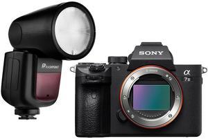 Sony a7 III Mirrorless Digital Camera with Flashpoint Zoom Li-on X TTL Speedlight