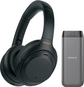 Sony WH-1000XM4 Wireless Headphones + 20,000 mAh PhoneSuit Power Bank