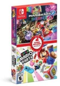 Mario Kart 8 Deluxe + Super Mario Party Double Pack (Nintendo Switch)