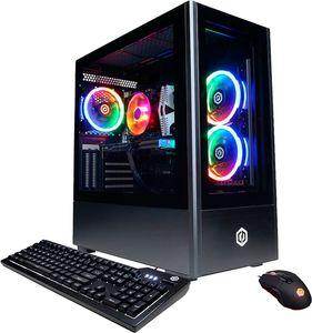 CyberPowerPC Gamer Xtreme Desktop, Core i7-10700F, 16GB RAM, 500GB SSD + 1TB HDD