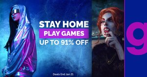 Green Man Gaming: Stay Home. Play Games Sale