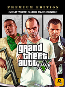 Grand Theft Auto V: Premium Edition & Great White Shark Card Bundle (PC Download)